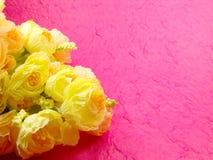 Het boeket bloeit Retro & Uitstekende Stijl Royalty-vrije Stock Afbeeldingen