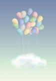 Het boeket van ballons Royalty-vrije Stock Fotografie