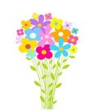 Het boeket van bloemen Stock Foto's