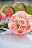 Het boeket van bruiden Royalty-vrije Stock Fotografie