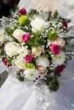 Het boeket van bruiden Stock Foto's