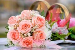Het boeket van bruiden Royalty-vrije Stock Afbeelding