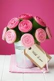 Het boeket van Cupcake Royalty-vrije Stock Foto's
