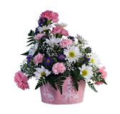 Het Boeket van de bloem stock afbeelding