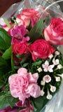 Het boeket van de bloem Stock Foto