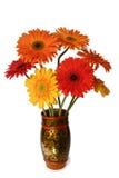 Het boeket van de bloemen van gerbera Royalty-vrije Stock Afbeeldingen