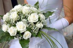 Het boeket van de bruid Royalty-vrije Stock Foto's