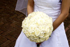 Het boeket van de bruid Royalty-vrije Stock Fotografie