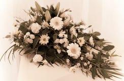 Het boeket van de bruid `s stock fotografie