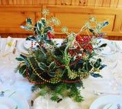 Het boeket van de Kerstmispijnboom Royalty-vrije Stock Fotografie