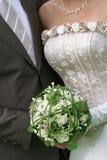 Het boeket van het huwelijk Royalty-vrije Stock Afbeeldingen