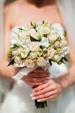 Het boeket van het huwelijk Stock Foto
