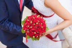 Het boeket van het huwelijk Stock Afbeeldingen