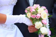 Het boeket van het huwelijk Stock Foto's