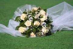 Het boeket van het huwelijk. Stock Foto