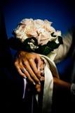 Het Boeket van het huwelijk - bloemen Stock Afbeeldingen