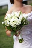 Het boeket van het huwelijk van bloemen royalty-vrije stock afbeeldingen