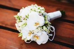 Het boeket van het huwelijk van bloemen Royalty-vrije Stock Fotografie