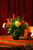 Het boeket van Kerstmis van bloemen 1 Stock Fotografie