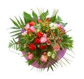 Het boeket van rozen Stock Afbeelding
