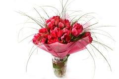 Het boeket van tulpen Stock Afbeelding