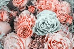 Het boeketclose-up van bloemen royalty-vrije stock foto