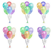 Het boeketgroep 2 van de ballon Stock Afbeeldingen