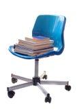 Het boekstoel van de school Stock Foto's