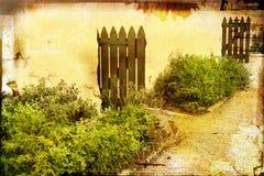 Het boerenerfpagina van Grunge stock afbeeldingen