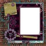 Het Boheemse BloemenFrame van de Zigeuner Royalty-vrije Stock Foto's