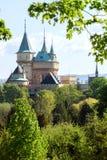 Het Bojnice-kasteel, Slowakije Royalty-vrije Stock Foto's