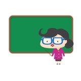 Het bord van de leraarstribune Stock Afbeelding