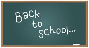 Het bord van de school terug naar school Royalty-vrije Stock Foto's