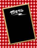 Het bord van het menu Royalty-vrije Stock Foto