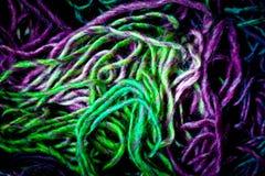 Het borduurwerkdraden van Needlecraft royalty-vrije stock foto