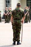 Het boren van troepen royalty-vrije stock foto