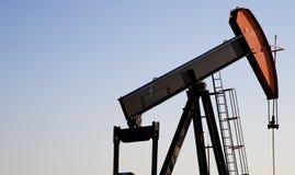 Het boren voor olie Royalty-vrije Stock Afbeeldingen