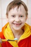 Het borstelen van uw tanden Royalty-vrije Stock Afbeelding