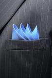 Het Borstzakje van het kostuum Royalty-vrije Stock Foto's