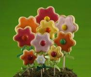 Het bos van het bloemkoekje royalty-vrije stock afbeelding