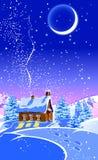 Het bos van Kerstmis Royalty-vrije Stock Afbeelding