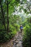 Het bospark in chitwan, Nepal Royalty-vrije Stock Afbeeldingen