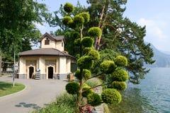 Het botanische park van Ciani in Lugano op Zwitserland royalty-vrije stock fotografie
