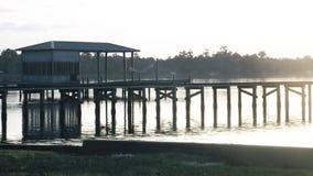 Het botenhuis Stock Afbeeldingen