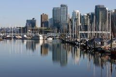 Het botenhuis van Vancouver Stock Foto's