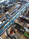 De brouwerij van Budweiser, Ceske Budejovice, Tsjechisch Rep. Royalty-vrije Stock Afbeeldingen