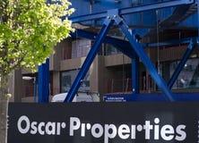 Het bouwterrein van Oscar Properties royalty-vrije stock afbeelding