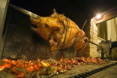 Het braadstuk van het varkensvlees Stock Foto's
