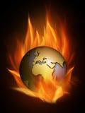 Het branden Royalty-vrije Stock Foto