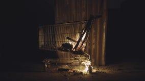 Het branden Consumentisme stock footage